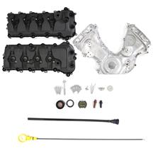Mustang Ford Performance Coyote Timing Cover & Cam Cover Kit (11-17) 5.0