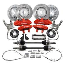 Mustang Ford Performance GT350R Brake Upgrade Kit for GT/EB (15-19)