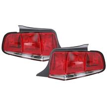 Mustang R12 Red Tail Lights (10-12)