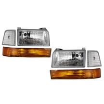 F-150 SVT Lightning Clear Diamond Headlight Kit (93-95)