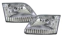 F-150 SVT Lightning Clear Diamond Headlights (99-04)