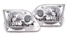 F-150 SVT Lightning Chrome Projector Headlights (99-04)