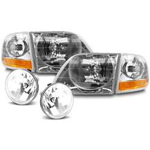 F-150 SVT Lightning Headlight & Fog Light Kit (01-04)