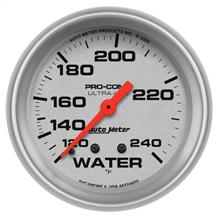 Auto Meter Ultra-Lite Water Temperature Gauge - 2 5/8""