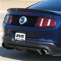 Mustang Decklid Panel Accent Decal  - Gloss Black (10-12)