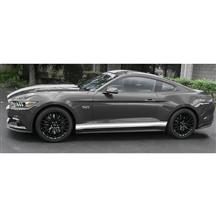 Mustang Triple Rocker Side Stripe Kit Gloss White (15-17)