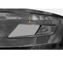 Mustang Solid Style Hood Vent Decal Pair Metallic Silver (15-17)