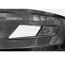 Mustang Solid Style Hood Vent Decal Pair Gloss White (15-17)