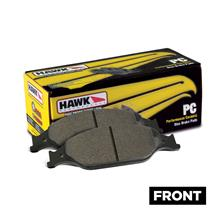 Mustang Hawk Performance Front Brake Pads - Ceramic (87-93) 5.0