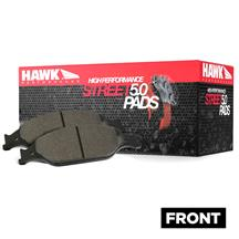 Mustang Hawk Performance Front Brake Pads - HPS 5.0  - GT Performance Pack (15-20)