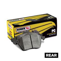 Mustang Hawk Performance Rear Brake Pads - Ceramic (15-20)