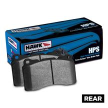 Mustang Hawk Performance Rear Brake Pads - HPS Compound (05-14)