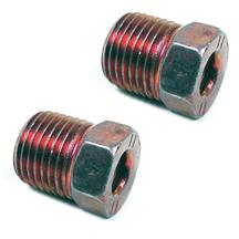 Mustang Rear Brake Hard Line To Caliper Nuts (79-93)