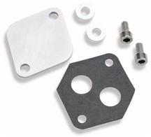 Mustang Holley Idle Air Control (Iac) Block Off Plate (86-93)