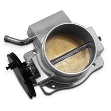 Mustang Holley Coyote Sniper Throttle Body  - Silver 5.0