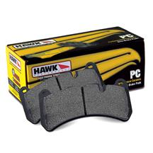 Mustang Hawk Rear Brake Pads - Ceramic Compound (15-17)