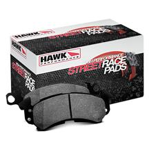 Mustang Hawk Rear Brake Pads - Street/Race   - GT Performance Pack (15-17)
