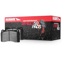 Mustang Hawk Front Brake Pads - HPS 5.0  - GT Performance Pack (15-17)