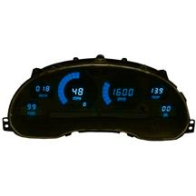 Mustang Intellitronix Digital Dash Gauge Cluster  - Blue (94-04)