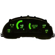Mustang Intellitronix Digital Dash Gauge Cluster  - Green (94-04)