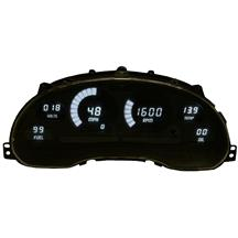 Mustang Intellitronix Digital Dash Gauge Cluster  - White (94-04)