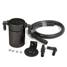 Mustang JLT 3.0 Oil Separator for Driver Side  - Black (96-01)