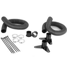 Mustang JLT Brake Cooling Kit  - Black Anodized (05-09)