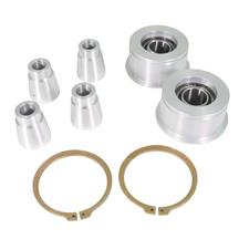 Mustang J&M Front Control Arm Spherical Caster Bushing Kit  - Clear (15-17)