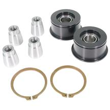 Mustang J&M Front Control Arm Spherical Caster Bushing Kit  - Black (15-17)