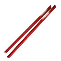 Mustang J&M Low Profile Full Length Jacking Rails  - Red (15-17)