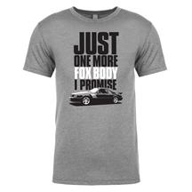 """Just One More Fox Body"" Tee  - Vintage Gray - Large"