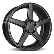 Mustang KMC 685 District Wheel - 20x8.5 Satin Black (05-19)
