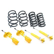 Mustang Koni Yellow Adjustable Shock/Strut  & Eibach Pro Spring Kit (15-19)