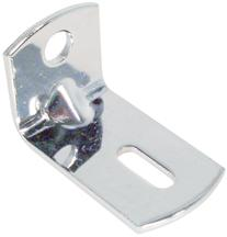 Mustang Headlight Panel Brackets Chrome (84-93)