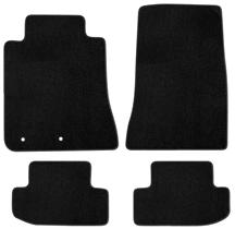 Mustang Lloyd Floor Mats - No Logo Black (15-18)