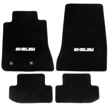 Mustang Lloyd  Floor Mats with Shelby Logo Black (15-18)