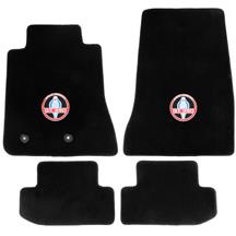 Mustang Lloyd  Floor Mats With GT350 Logo Black (15-20)