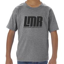 LMR Logo Toddler Tee - 5T  - Gray