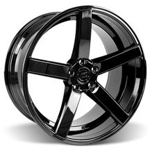 Mustang DF5 Wheel - 20x10 Piano Black (05-17)