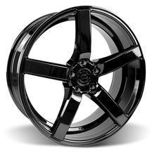 Mustang DF5 Wheel - 20x8.5 Piano Black (05-17)