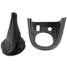 Mustang Leather Shift Boot & Bezel Kit (99-00)