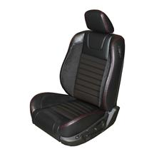 Mustang TMI Sport R Upholstery Black/Red Stitching Vinyl (05-07) Coupe