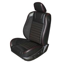 Mustang TMI Sport R Upholstery Black/Red Stitching Leather (05-07) Convertible