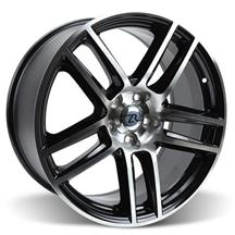 Mustang Boss 302 S Style Wheel - 19X10  Black Machined (05-15)