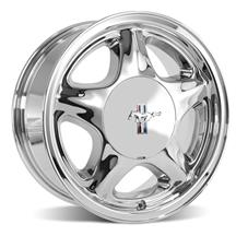 Mustang Pony Wheel & Center Cap - 16x7 Chrome (79-93)