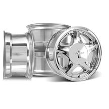 Mustang Pony Wheel & Center Cap Kit - 16x7  - Chrome (79-93)