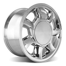Mustang 93 Cobra Wheel RH - 17x8.5  - Chrome (79-93)