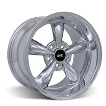 Mustang Deep Dish Bullitt Wheel - 17X10.5 Chrome (94-04)