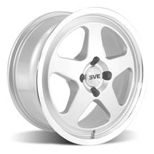 Mustang SVE Saleen SC Style Wheel - 17X8 Silver (79-93)