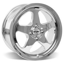 Mustang SC Wheel - 17X9 Chrome (79-93)